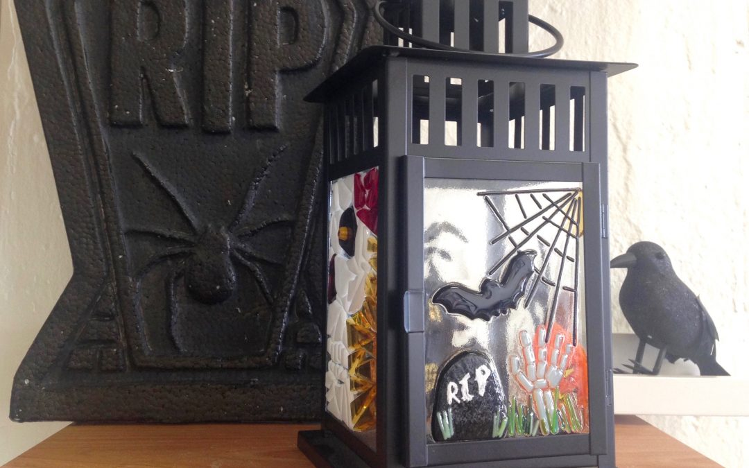 Fused Glass Halloween Lantern Workshop