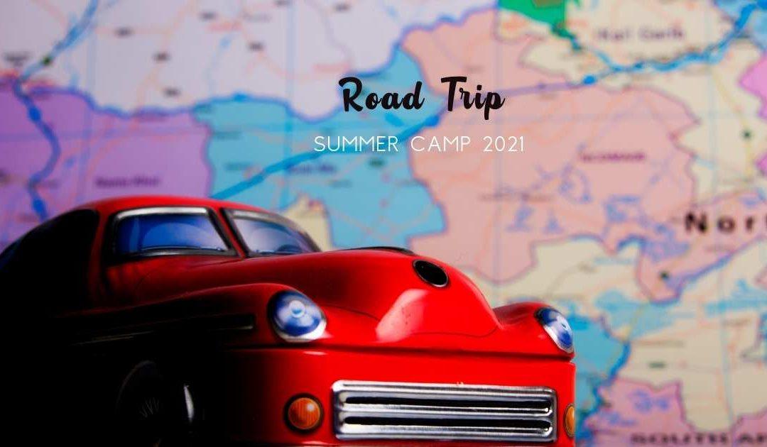 Create It's Road Trip Summer Camp